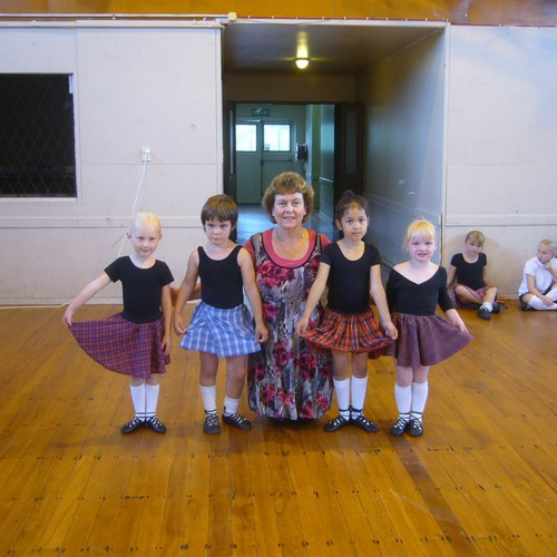 Getting Started in Dance class
