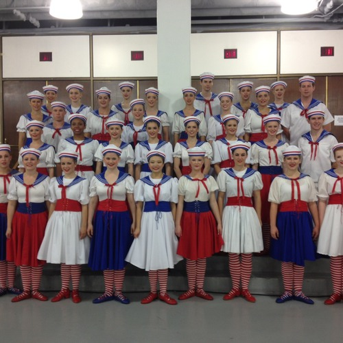 Dance Team Compass Rose Costumes