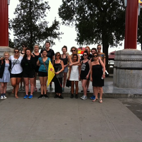 Dance Company at the Summer Palace