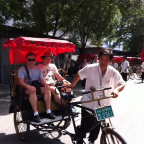SAM & LEIGHTON - PEDAL BIKE TOUR OF HUTONG DISTRICT