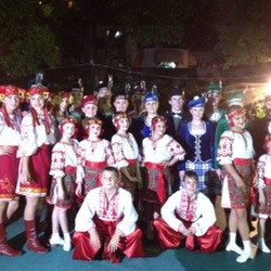 Team with Russian Performers