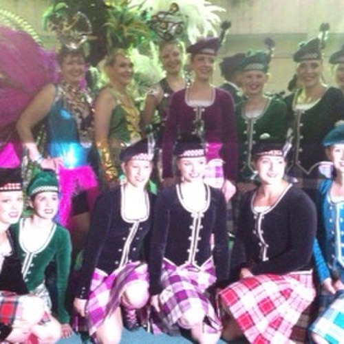Team with Finnish Samba Dancers