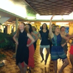 Dancing on board River boat cruise