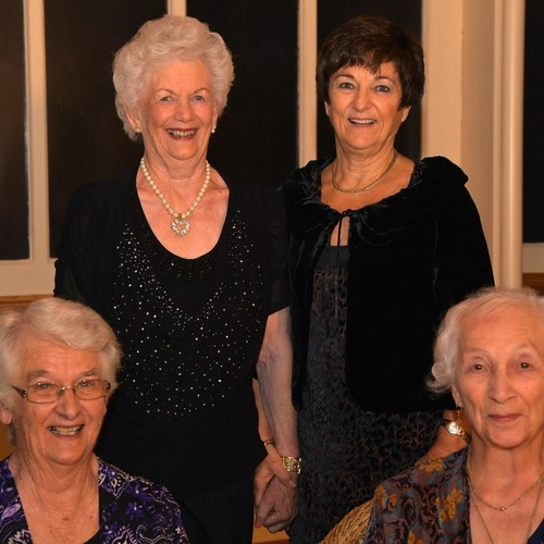 Academy Life Members - Joan Osborne, Sherilyn Hall, Enid Weir, Beckie Rout