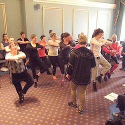 Dance Development Course participants
