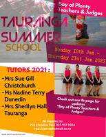 Tauranga Summer School - January 2021