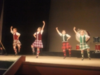 Dancing girls at Christchurch Caledonian concert