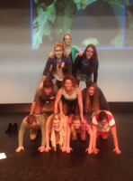Group 1 Human Pyramid